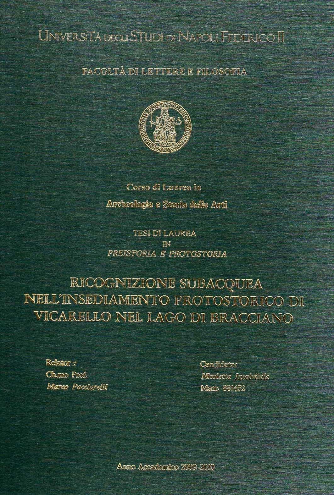pubblicazioni sul territorio tesi di laurea e dottorato
